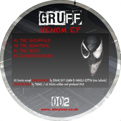 "Gruff 002 ""The Venom EP"""