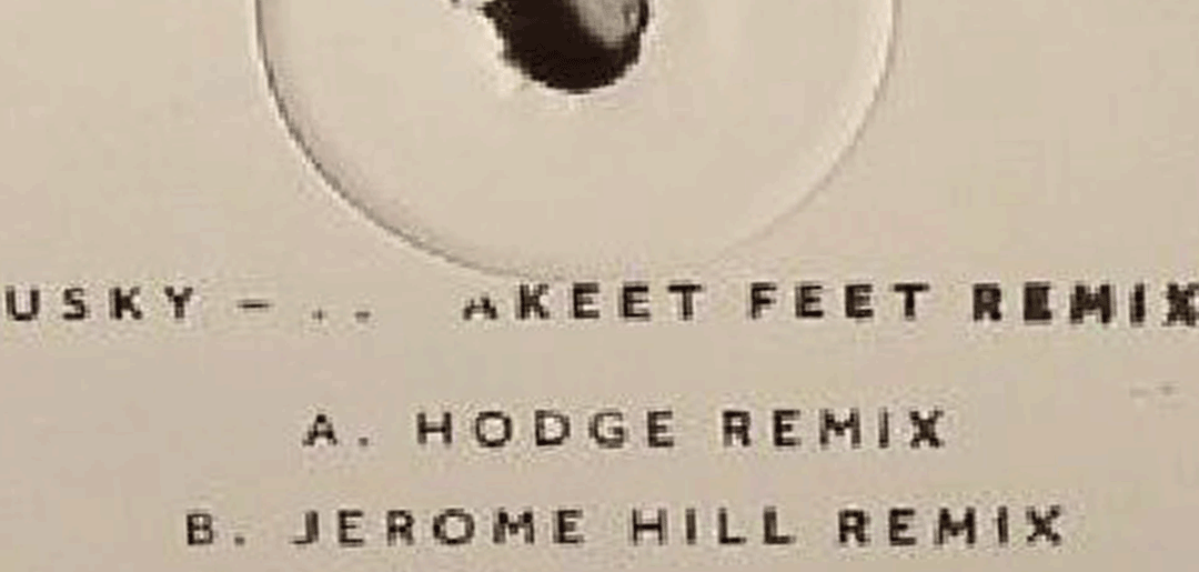Dusky Remixes from Hodge & Jerome Hill are here !